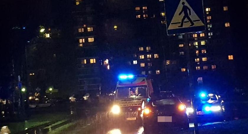 Wypadki drogowe, Potrącenie ulicy Kiepury Zello - zdjęcie, fotografia