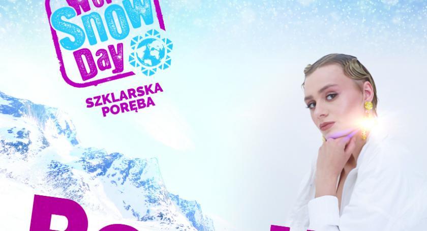 Wydarzenia, niedzielę Światowy dzień śniegu Szklarskiej Porębie - zdjęcie, fotografia