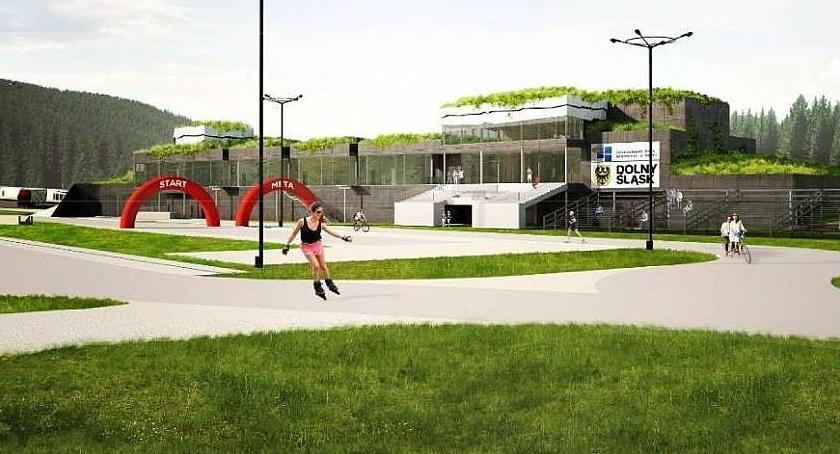 Inwestycje, budową Centrum Polanie Jakuszyckiej - zdjęcie, fotografia