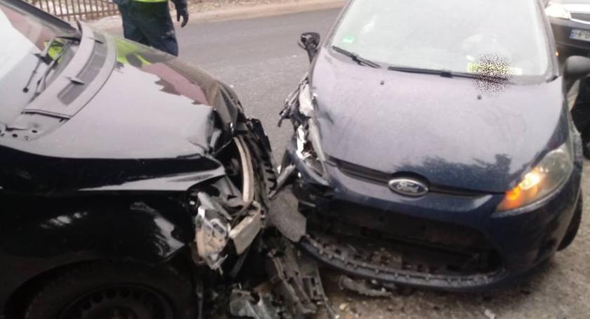 Wypadki drogowe, Czołówka Jeżowie Sudecki Włącz Zello bądź bieżąco Radio telefonie - zdjęcie, fotografia