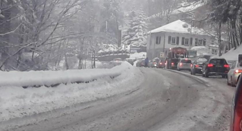 Z ostatniej chwili, Załamanie pogody Fatalne warunki drogach Włącz Zello - zdjęcie, fotografia