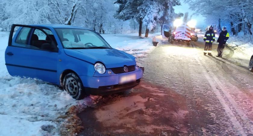 Wypadki drogowe, Czołowe zderzenie Sudeckiej - zdjęcie, fotografia