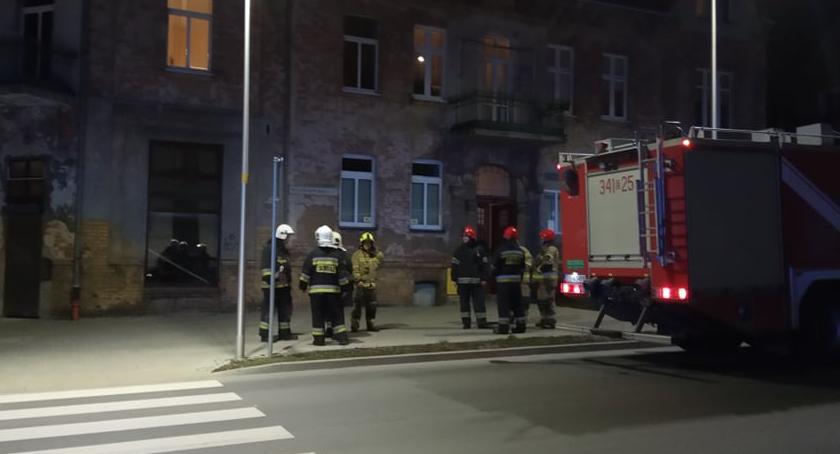Interwencje, Interwencja straży pożarnej Wyczółkowskiego - zdjęcie, fotografia