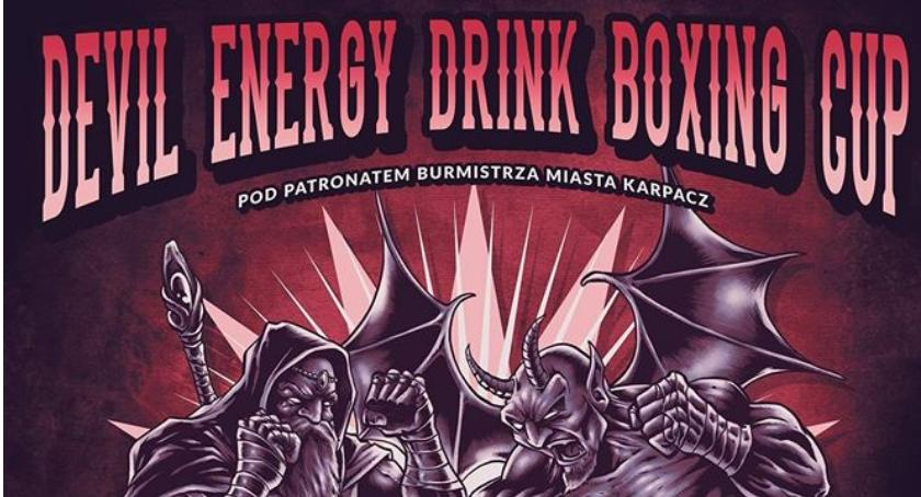 Boks, Devil Energy Drink Boxing Karpaczu - zdjęcie, fotografia
