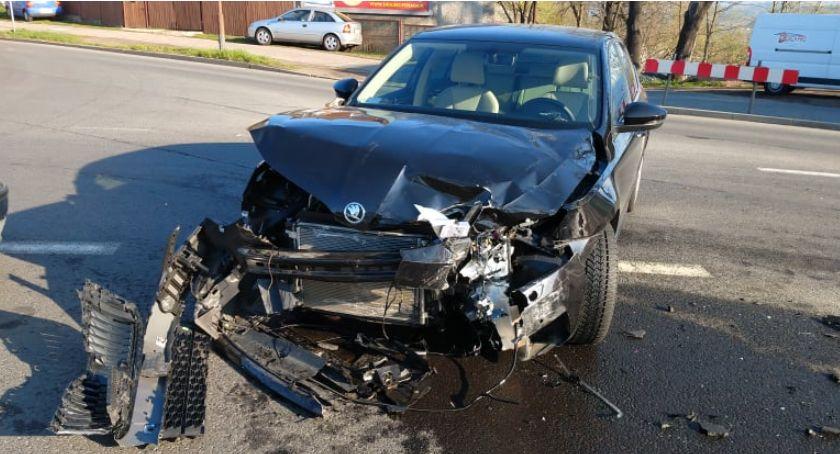 Wypadki drogowe, Poważne utrudnienia skrzyżowaniu Solidarności - zdjęcie, fotografia