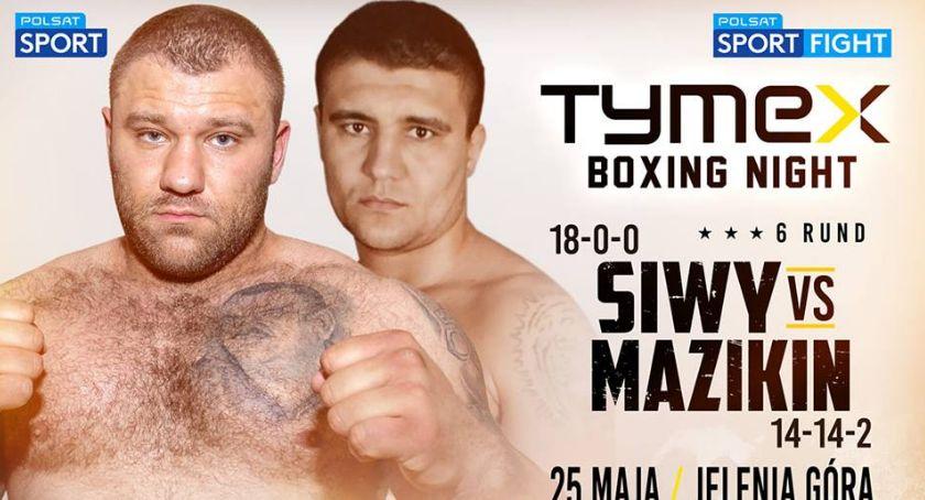 Boks, Dawna gwiazda boksu rywalem Marcina Siwego Tymex Boxing Night Jeleniej Górze - zdjęcie, fotografia