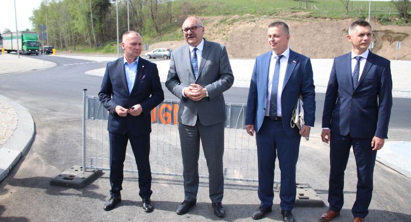 Inwestycje, Obwodnica Maciejowej oficjalnie otwarta! - zdjęcie, fotografia