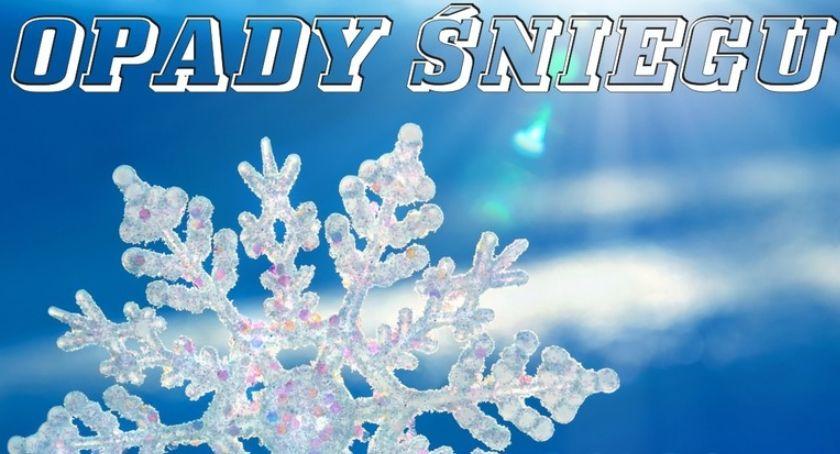 Ważne komunikaty, Będzie bardzo zimno Może spaść śnieg - zdjęcie, fotografia