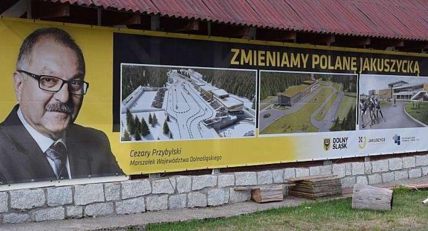 Inwestycje, Przetarg przebudowę Polany Jakuszyckiej unieważniony - zdjęcie, fotografia