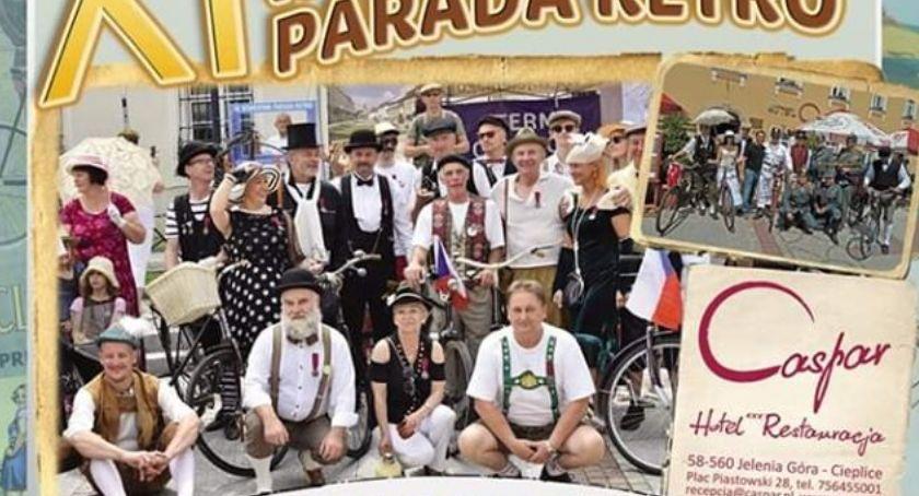 Wydarzenia, Rowerowa Parada Retro niedzielę - zdjęcie, fotografia