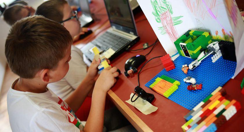 Dzieci, Półkolonie klockami Jeleniej Górze - zdjęcie, fotografia