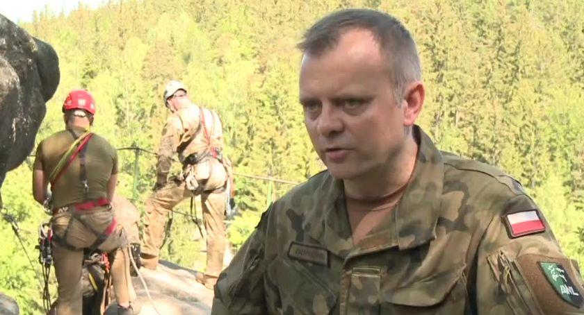 Ludzie, Wojskowe szkolenie wysokogórskie Karkonoszach - zdjęcie, fotografia
