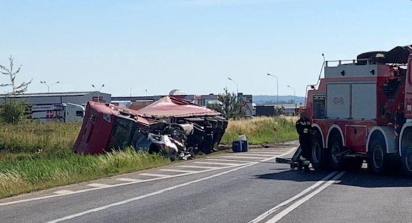 Wypadki drogowe, Śmiertelny wypadek Zgorzelcem - zdjęcie, fotografia
