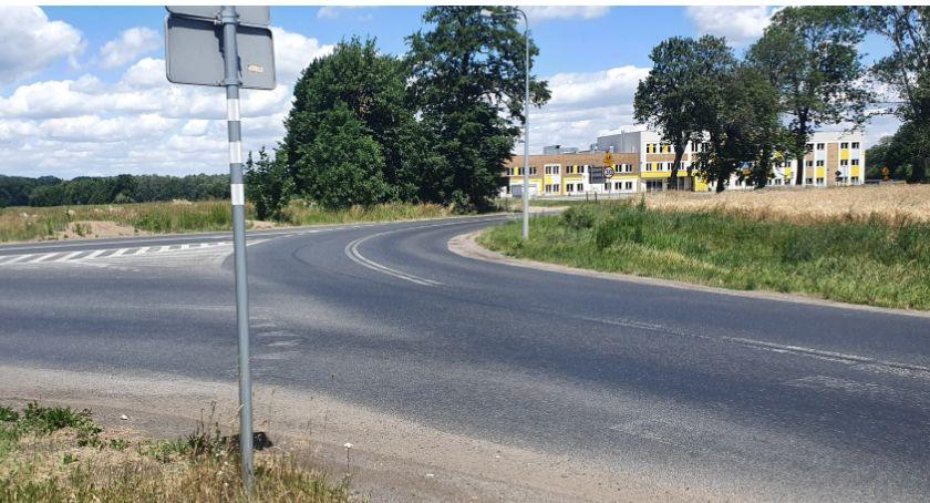 Inwestycje, budową ronda Podgórzynie - zdjęcie, fotografia