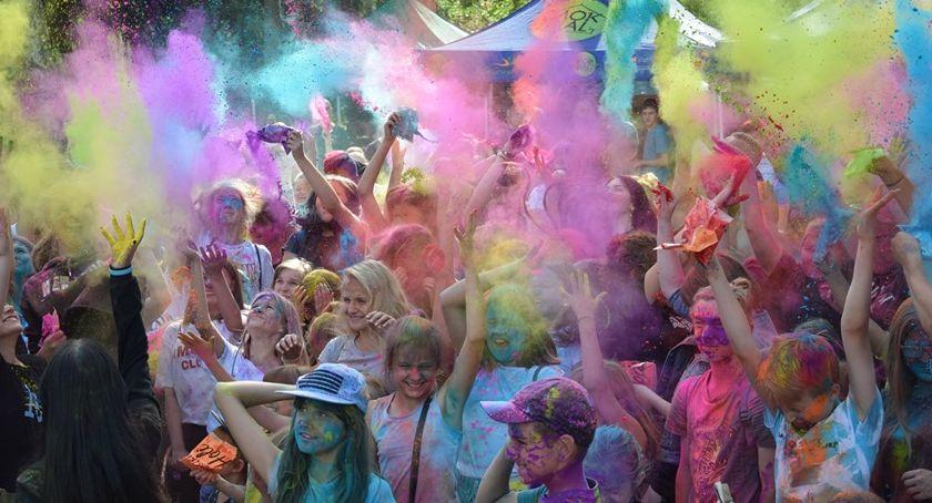 Event, Kolorowy początek Skweru Szklarskiej Porębie - zdjęcie, fotografia