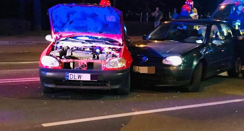 Wypadki drogowe, Kolejne zderzenie skrzyżowaniu Wolności Wyczółkowskiego - zdjęcie, fotografia