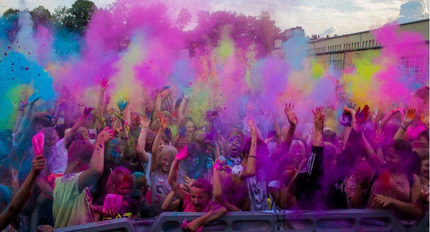 Wydarzenia, Festiwal kolorów Parku Sportowym Złotnicza - zdjęcie, fotografia