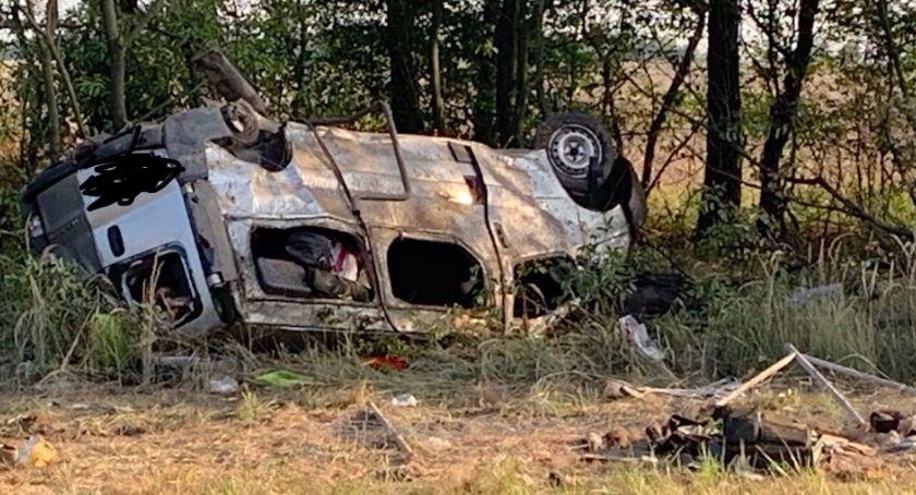 Wypadki drogowe, Zginęło osób zarzut kierowcy - zdjęcie, fotografia