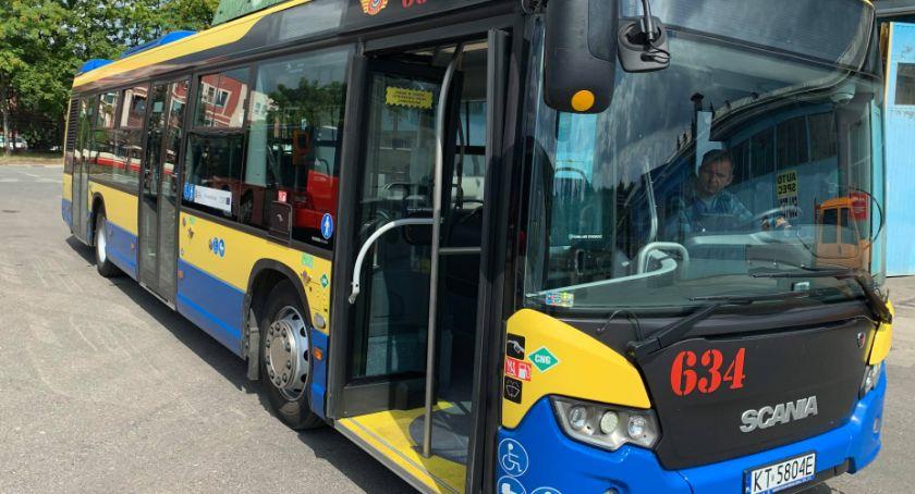 Komunikacja, Zakończyły testy autobusu napędzie gazowym - zdjęcie, fotografia