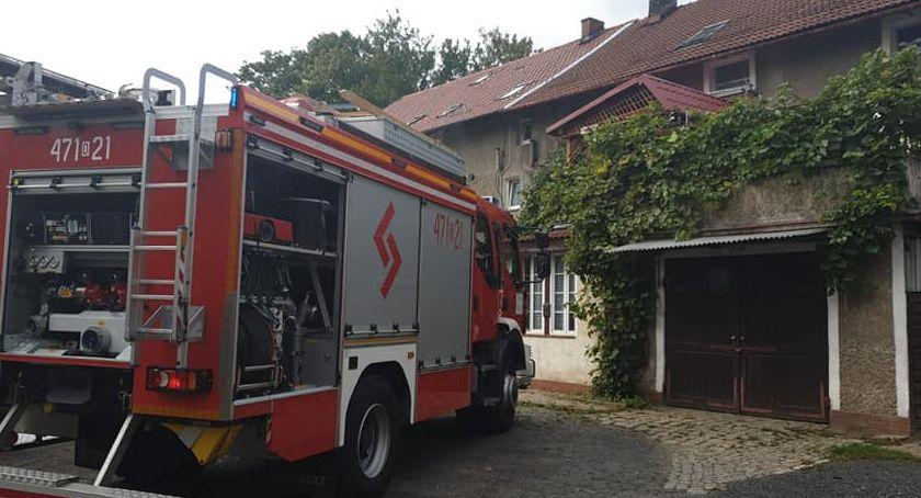 Pożary, Spłonął garnek obiadem - zdjęcie, fotografia