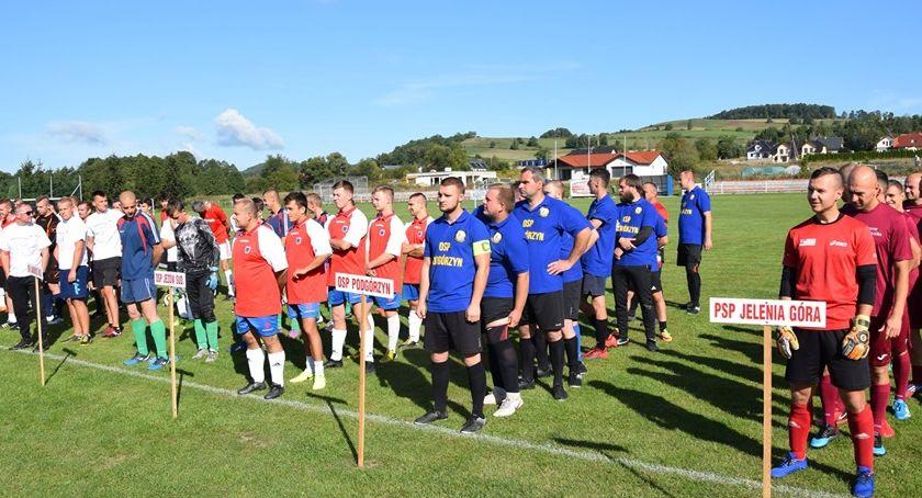 Plenerowe, Strażacki turniej piłkarski - zdjęcie, fotografia