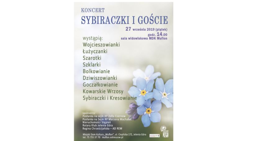 Koncerty, Sybiraczki Goście koncert Muflonie - zdjęcie, fotografia