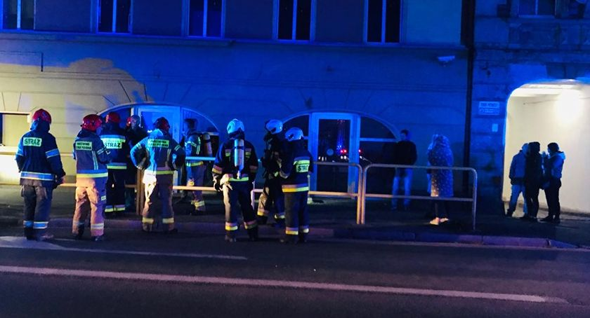 Interwencje, Nocna ewakuacja Wincentego - zdjęcie, fotografia