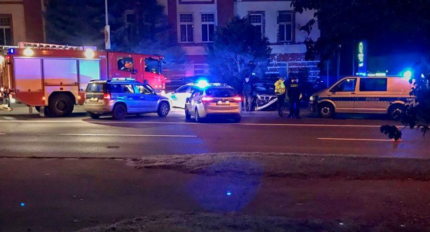 Kronika Kryminalna, Nocny pościg ulicami miasta Kierowca uciekał ogromną prędkością - zdjęcie, fotografia