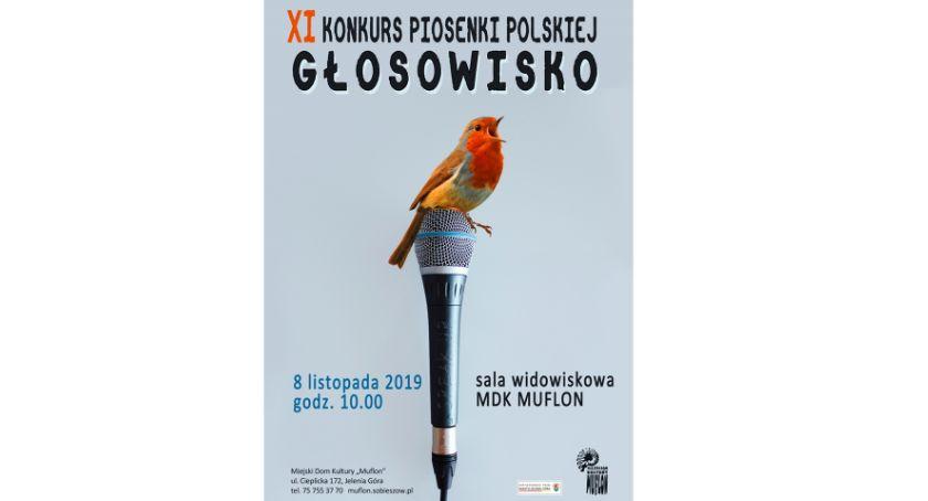 """Wydarzenia, Konkurs Piosenki Polskiej """"GŁOSOWISKO"""" Muflonie - zdjęcie, fotografia"""