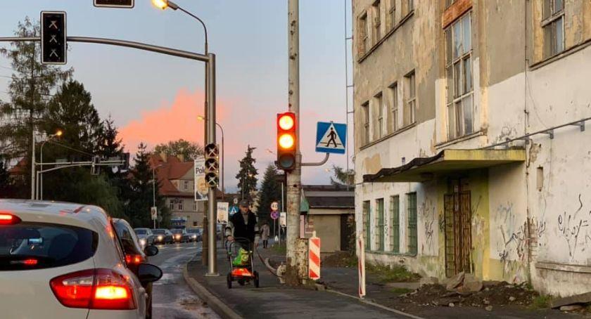 Inwestycje, system sterowania ruchem skrzyżowaniu Wolności Marcinkowskiego - zdjęcie, fotografia
