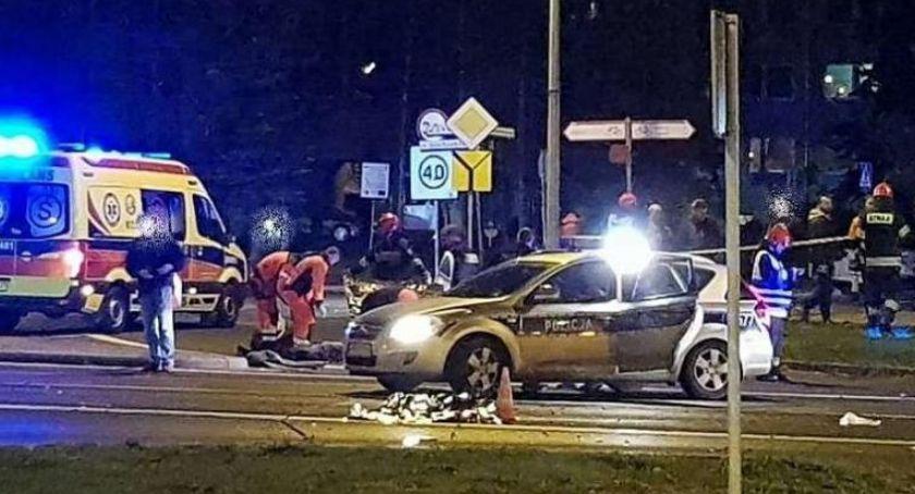 Kronika Kryminalna, Podczas nocnego wyścigu śmiertelnie potrącili osoby oskarżenia - zdjęcie, fotografia