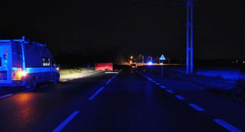 Wypadki drogowe, Śmiertelne potrącenie obwodnicy Zgorzelca - zdjęcie, fotografia