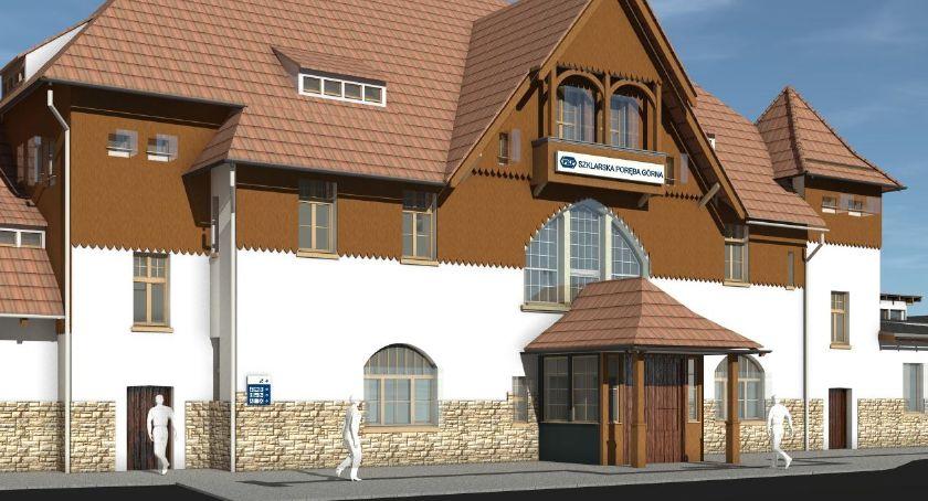 Inwestycje, Rusza przebudowa dworca kolejowego Szklarskiej Porębie Górnej Inwestycja pochłonie miliona złotych - zdjęcie, fotografia