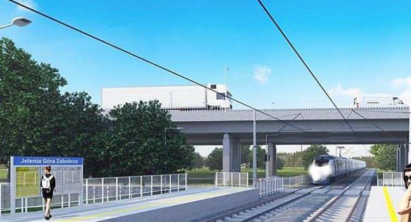 Komunikacja, połowy grudnia podróżni będą korzystać nowych przystanków kolejowych Jeleniej Górze - zdjęcie, fotografia