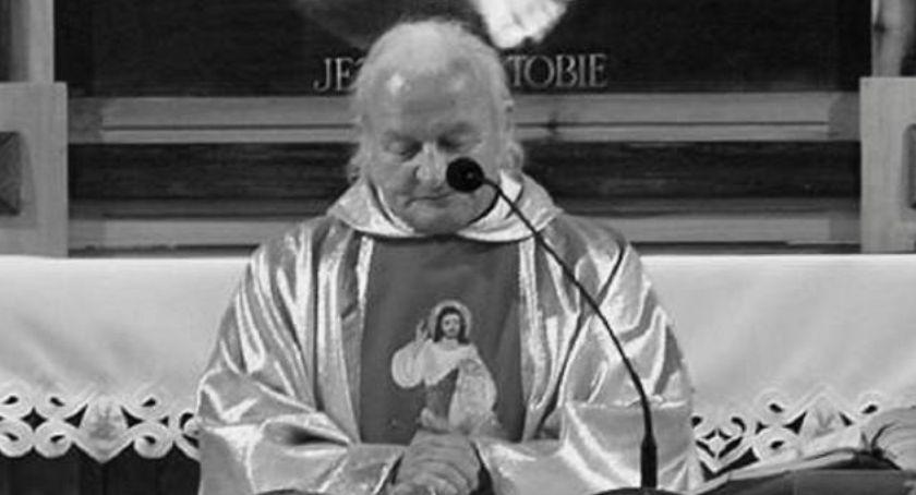 Ludzie, Zmarł ksiądz Marian Matula znany wszystkim Kubek - zdjęcie, fotografia