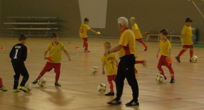Piłka nożna, Drużyna żaków konferencji - zdjęcie, fotografia