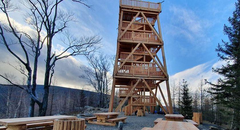 Turystyka, Wieża widokowa Czerniawie Zdroju otwarta - zdjęcie, fotografia