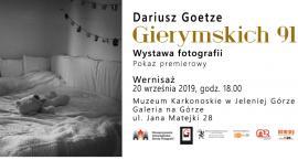 Wernisaż wystawy Dariusza Goetze - Gierymskich 91