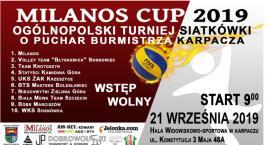 Ogólnopolski turniej siatkówki Milanos Cup 2019