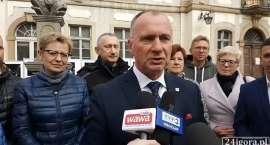 Jerzy Łużniak podziękował za głosy i za liczny udział w wyborach