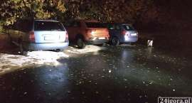 Kradzież paliwa z trzech samochodów