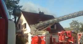 Pożar domu w Siedlęcinie
