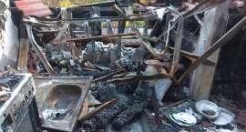 Ogromne zniszczenia po pożarze w Piechowicach