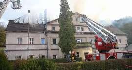 Pomoc pogorzelcom - odbudowa budynku przy ul. Kryształowej 102