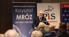 Adam Lipiński i Adam Bielan udzielili poparcia Krzysztofowi Mrozowi