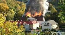 Tragedia w Piechowicach. Pożar domu wielorodzinnego