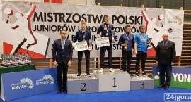 Złoto i dwa brązy na Mistrzostwach Polski w Badmintonie