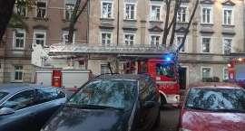 Pożar piwnicy przy ul. Drzymały