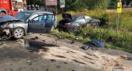 Groźny wypadek w Podgórzynie
