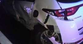 Zderzenie dwóch aut na drodze ze Szklarskiej Poręby do Jakuszyc. Obaj kierowcy to Czesi.